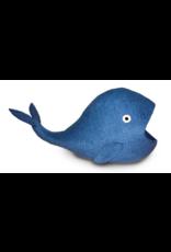 dharma dog and Karma cat DDKC - Wool Felt - Whale Cave Blue