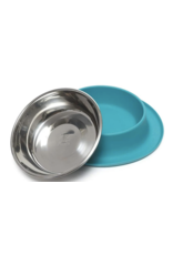 Messy Mutts Messy Mutts - Silicone Feeder w/ Stainless Bowl - Med -