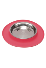 Messy Cats Messy Cats - Silicone Feeder with Stainless Bowl - 1.75 Cups -