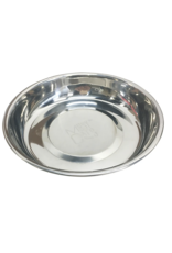Messy Cats Messy Cats - Stainless Saucer Bowl - 1.75 Cups