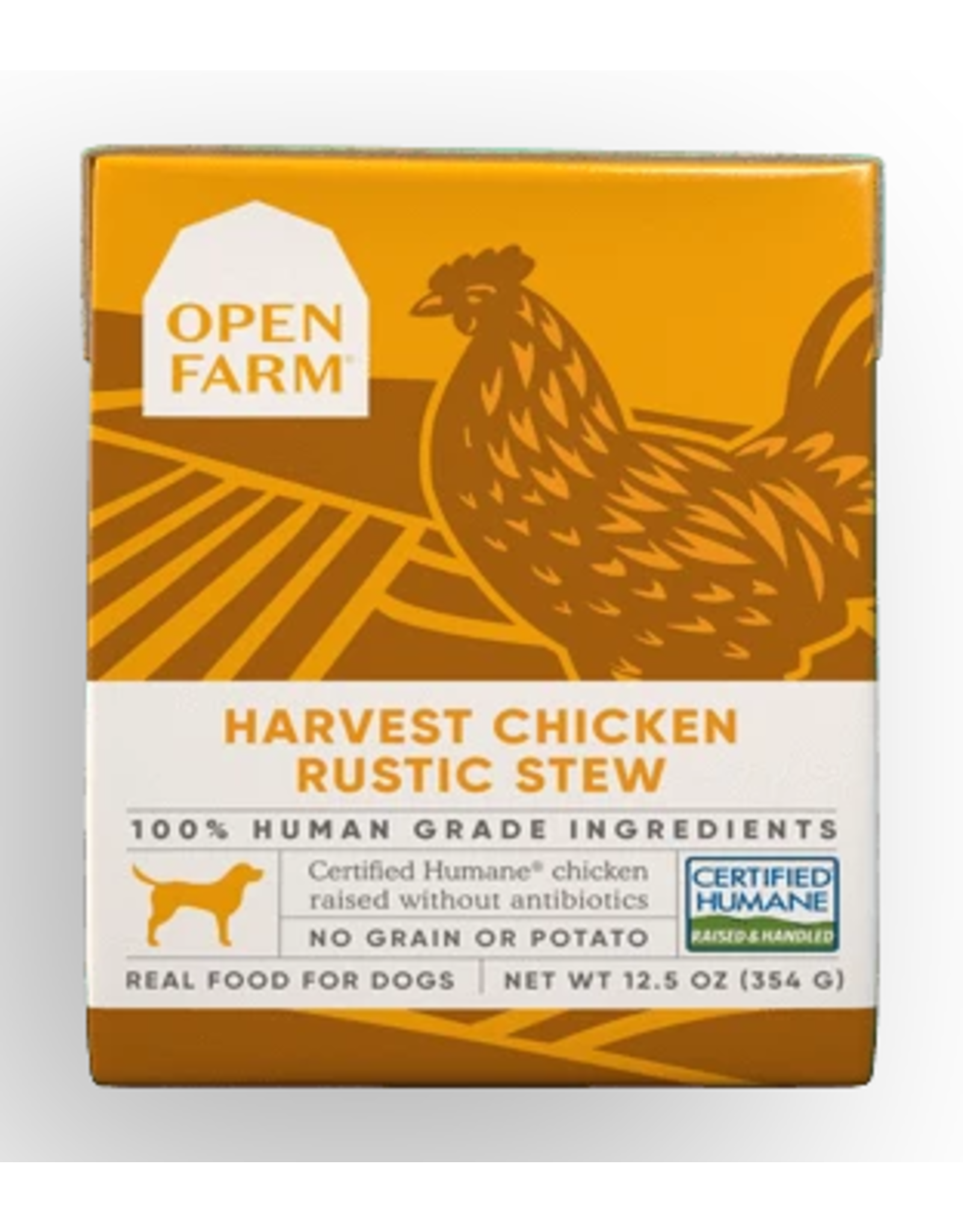 Open Farm Open Farm - DOG - CAN - Chicken Rustic Stew - 12.5oz