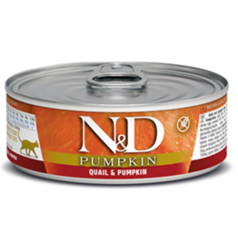 Farmina Farmina - N&D - Cat - Quail, Pumpkin & Pomegranate - Can 2.8oz