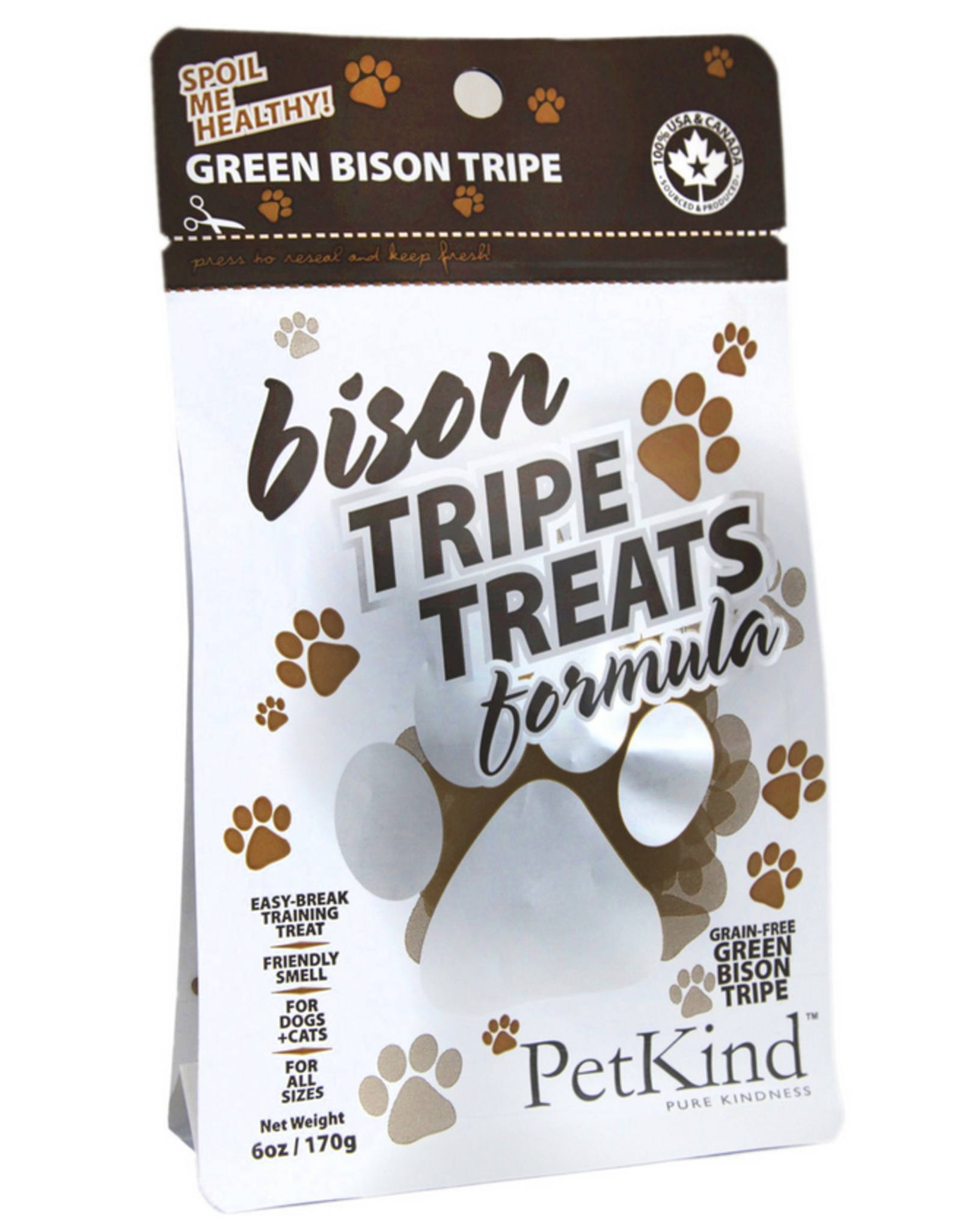 PetKind Petkind - Tripe Treat - Bison - 6oz