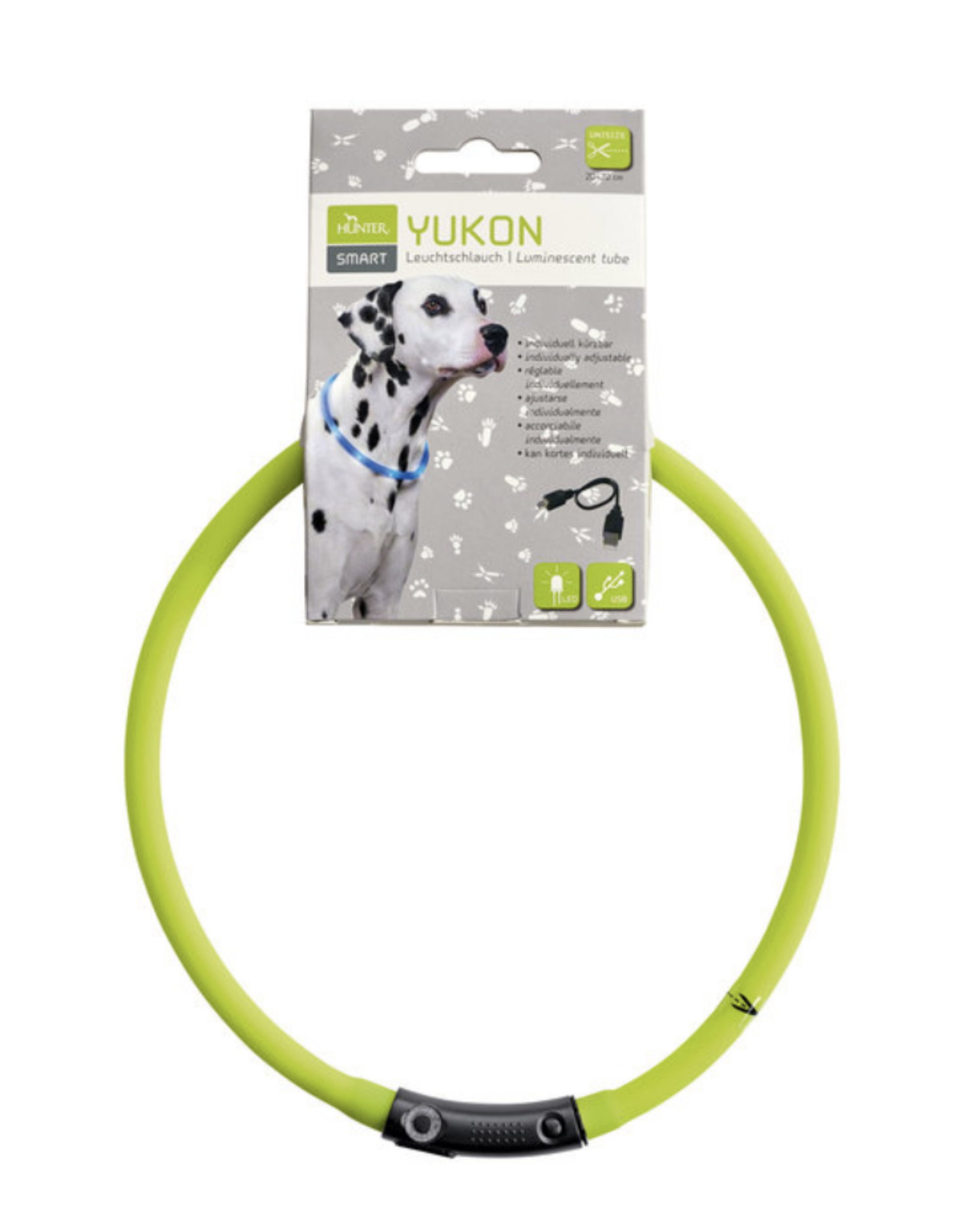 Hunter Hunter - LED Silicone Liminescent Tube Yukon - Lime