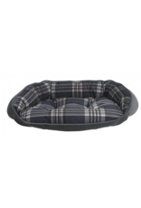 Bowsers Bowsers - Crescent Bed - MED - Greystone Tartan