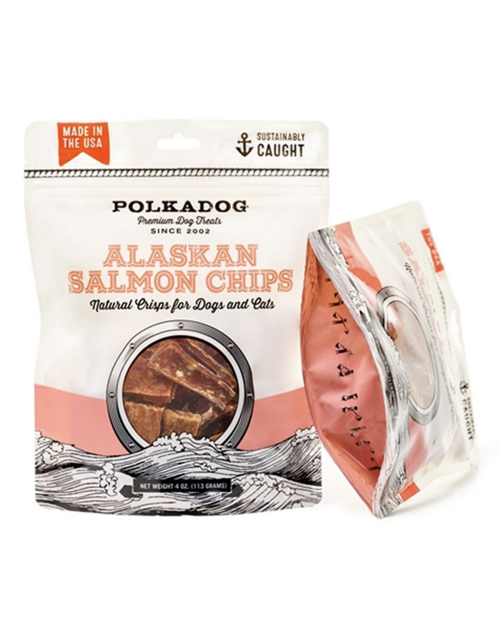 Polkadog Polkadog - Wild Alaskan Salmon Chips