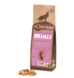 Northern Pet Products Northern Minis - Canadian Bacon with Real Blueberries