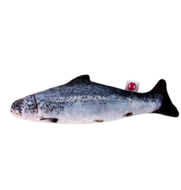Natural Cat Toy Natural Toys 4 Cats - Catnip Plush Salmon 20cm