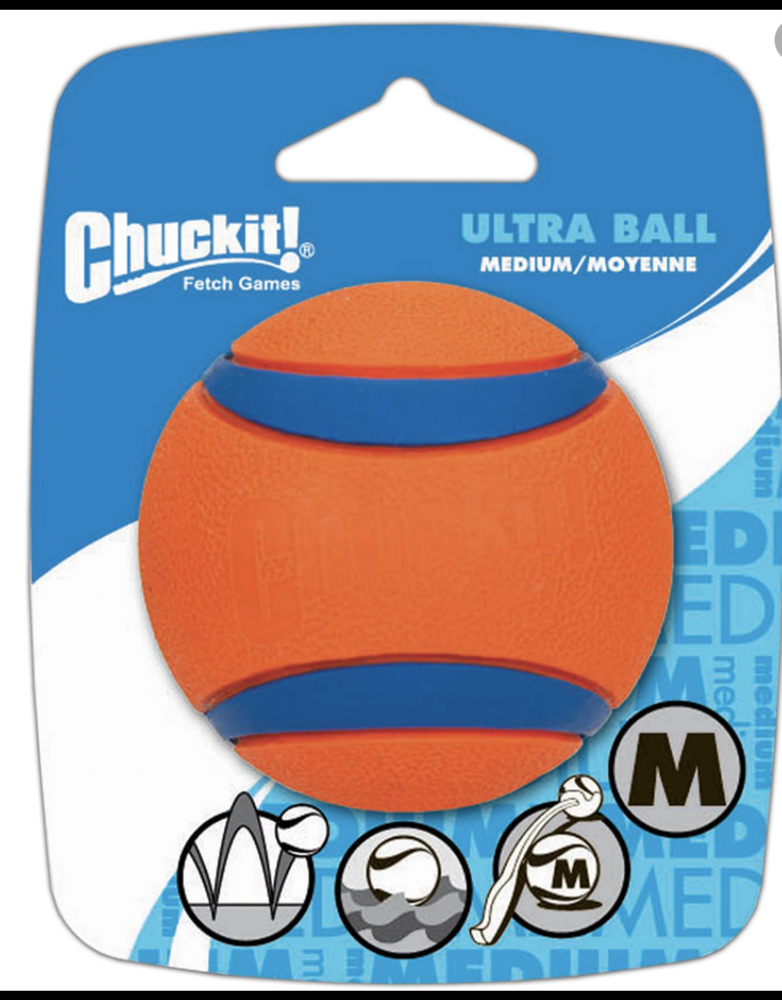 Chuckit Chuck It - Ultra Ball - 1 Pack - Med
