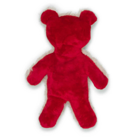 West Paw West Paw - Holiday Bear - Large - Red