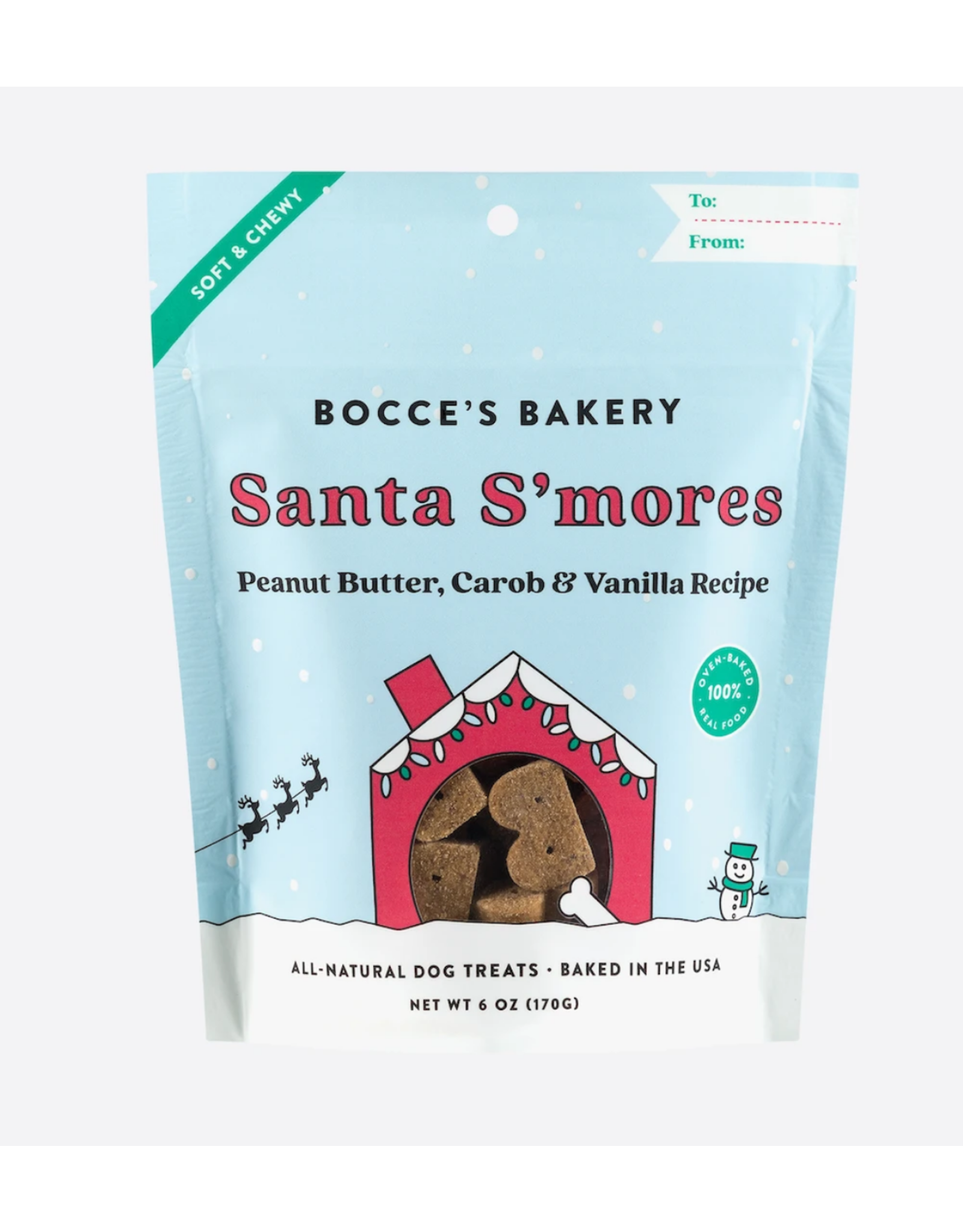 Bocce's Bakery Bocce's Bakery  - Santa's S'mores Biscuits