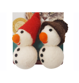 dharma dog and Karma cat Dharma Dog Karma Cat - Felt Snowman