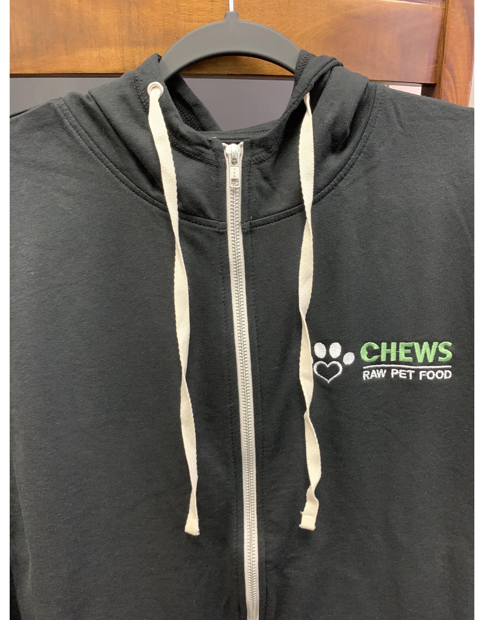 Chews Chews - Apparel - Lightweight Zip - Black