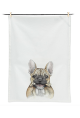 Bruce Bulldog Tea Towel