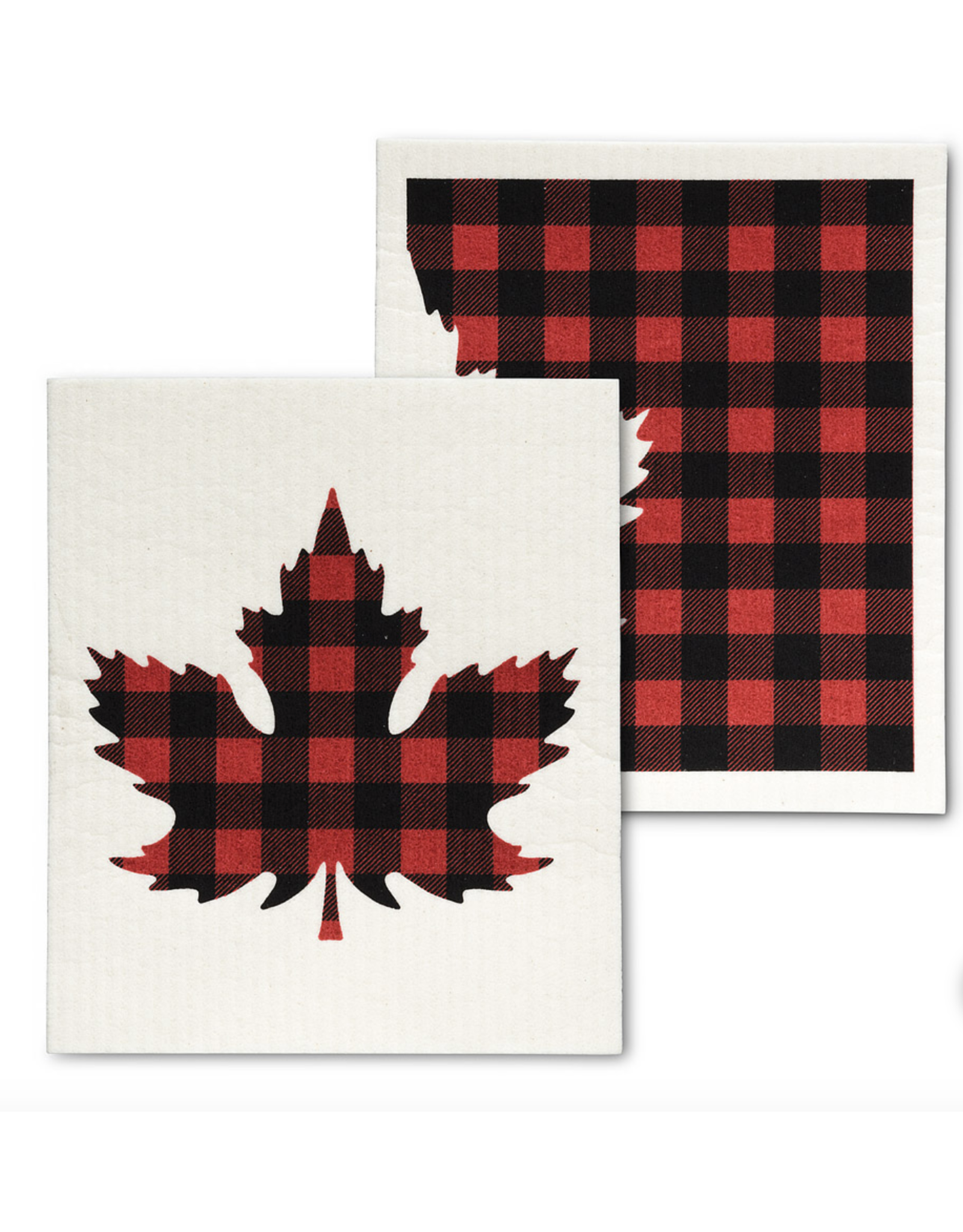 Check Leaf Dishcloths - (2pc)