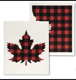 Check Leaf Dishcloths - (2pc)