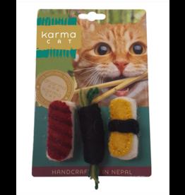 dharma dog and Karma cat Dharma Dog Karma Cat - Sushi - Set of 3