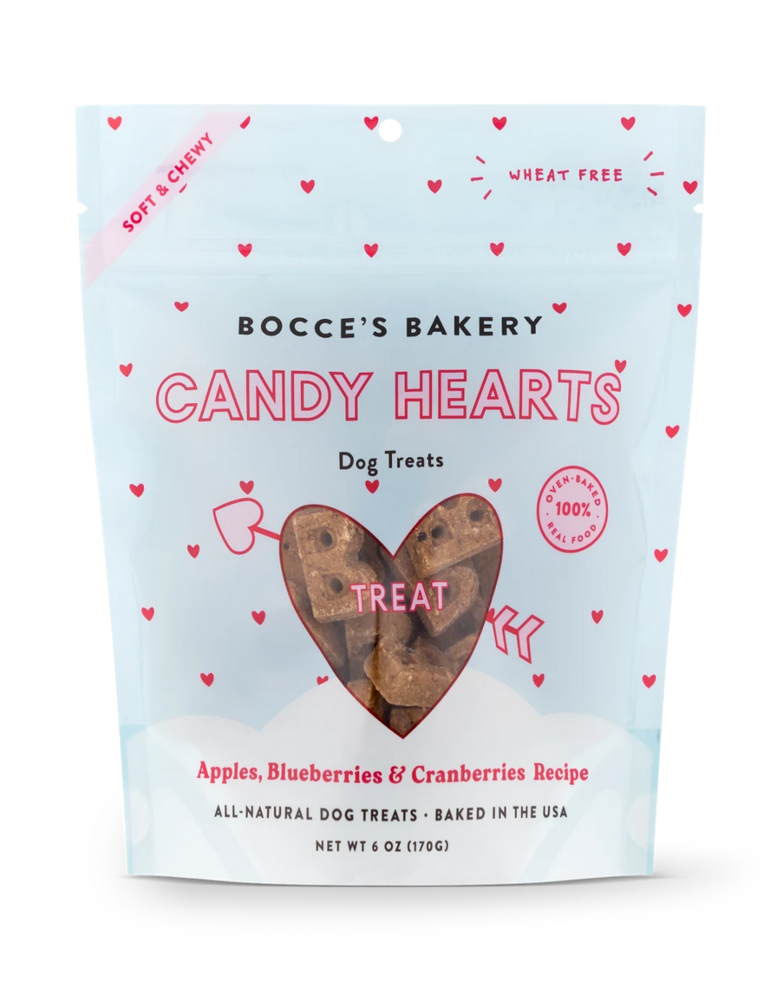 Bocce's Bakery Bocce's Bakery - Soft & Chewy - Candy Hearts