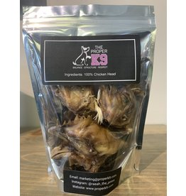 The Proper K9 The Proper K9 - Chicken Heads - 4pk