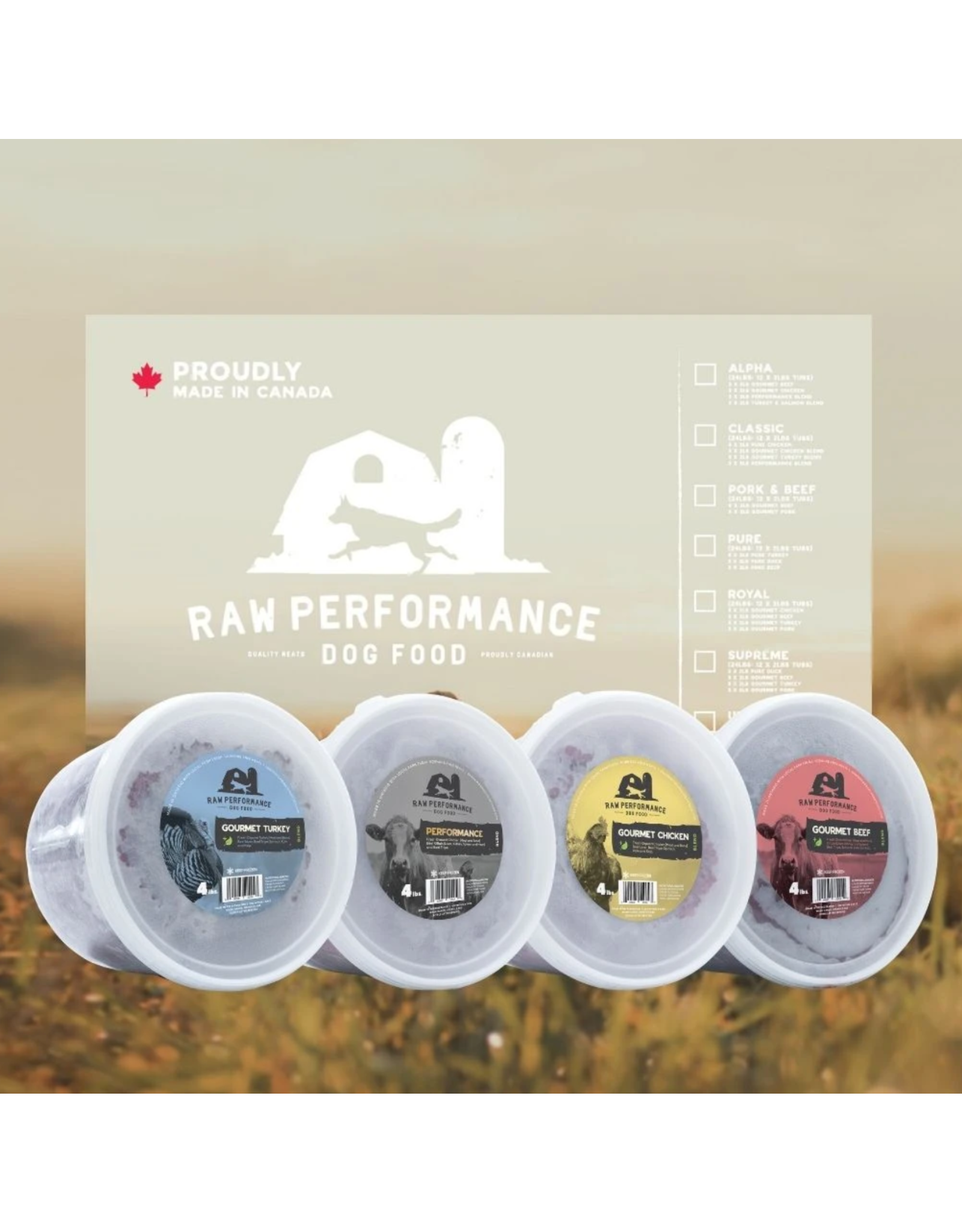 Raw Performance Raw Performance - BEEF Wolf Pack - 48LB