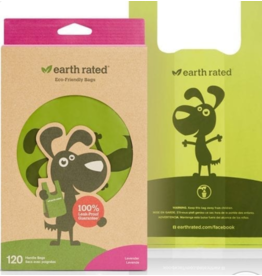 Earth Rated Earth Rated Poop Bags with Handle - 120  - Lavender
