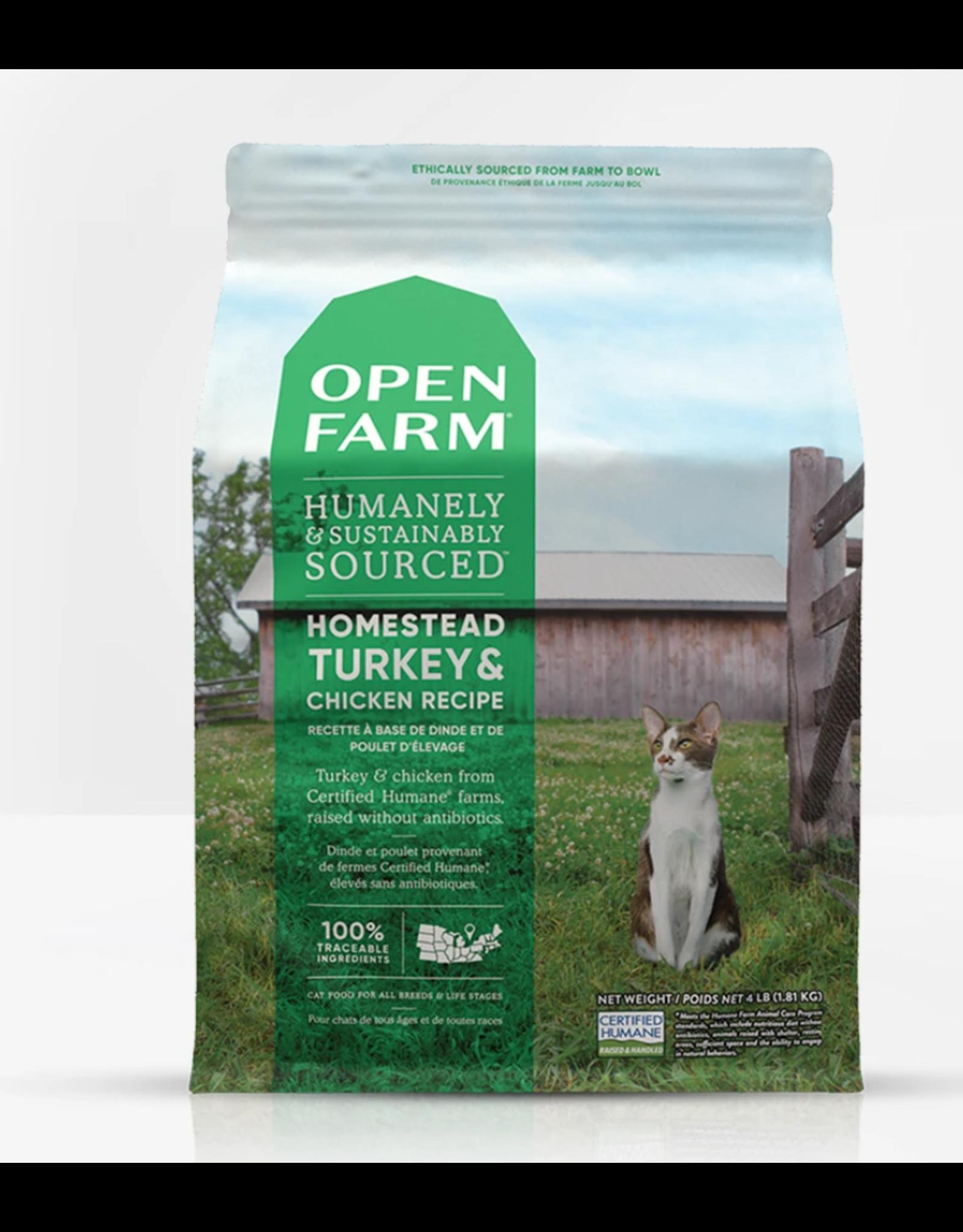 Open Farm Open Farm Dry - CAT - Turkey and Chicken 8LB