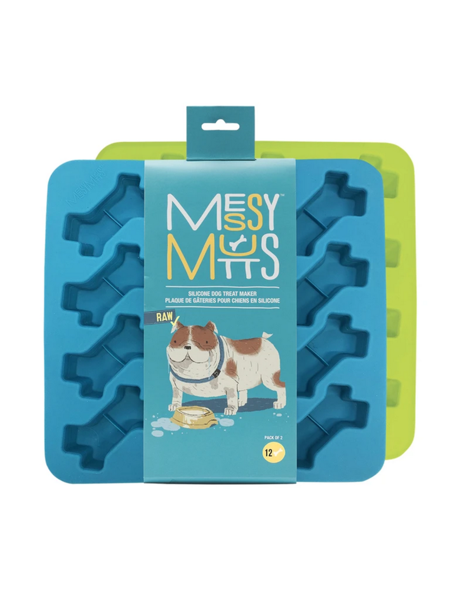 Messy Mutts Messy Mutts - Bake & Freeze Treat Maker - 2pk