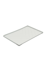 Messy Mutts Messy Mutts - SIlicone Mat - Med - Light Grey