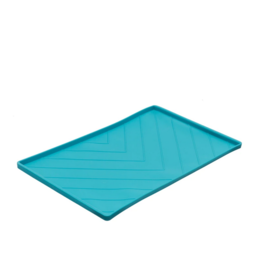 Messy Mutts Messy Mutts - SIlicone Mat - Lrg - Blue