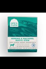 Open Farm - DOG - CAN - Herring and Mackerel Rustic Stew - 12.5oz