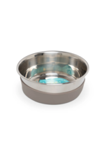 Messy Mutts Messy Mutts - Heavy Gauge Bowl - Grey