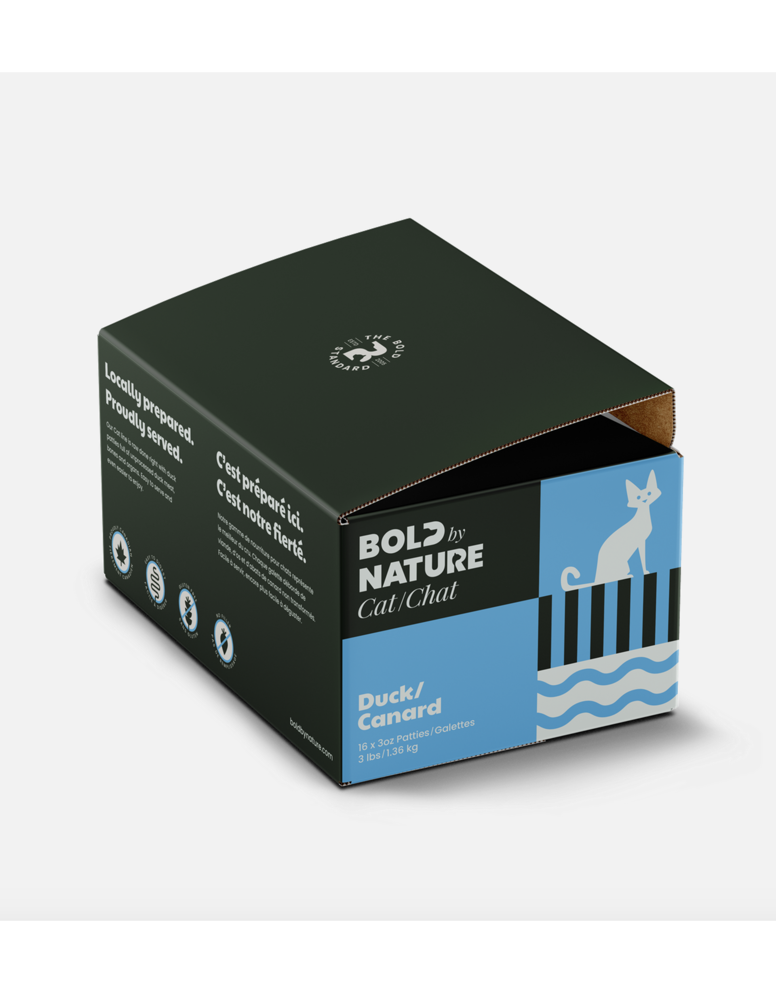 Bold Raw Bold by Nature - CAT - Duck - 3LB