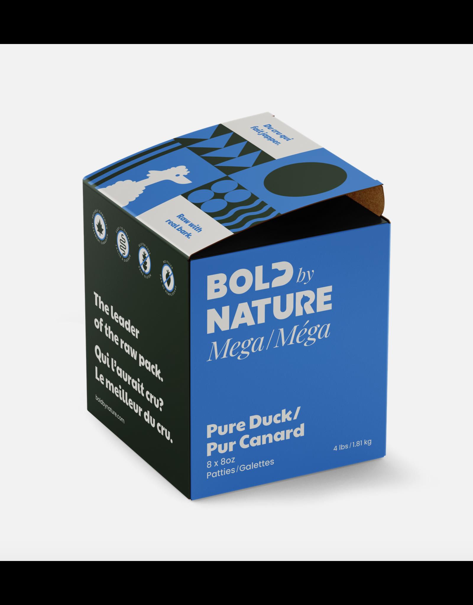 Mega Dog Bold by Nature - Mega - Pure Duck - 4lb Box