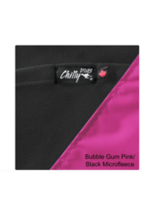 Chilly Dog Chilly Dogs - Reversible Alpine Blanket - Pink/Black Microfleece Lining