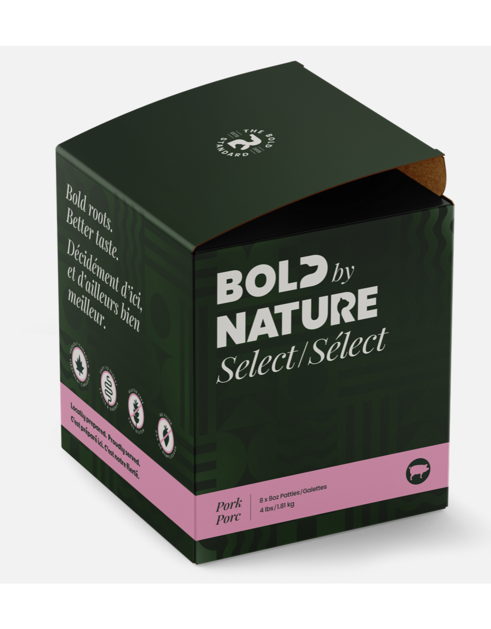 Bold by Nature Bold by Nature - Pork Select - 4lb