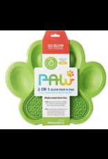Pet Dream House Paw 2-1 Slow Feeder - Green