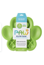 Pet Dream House Paw Slow Feeder - Green