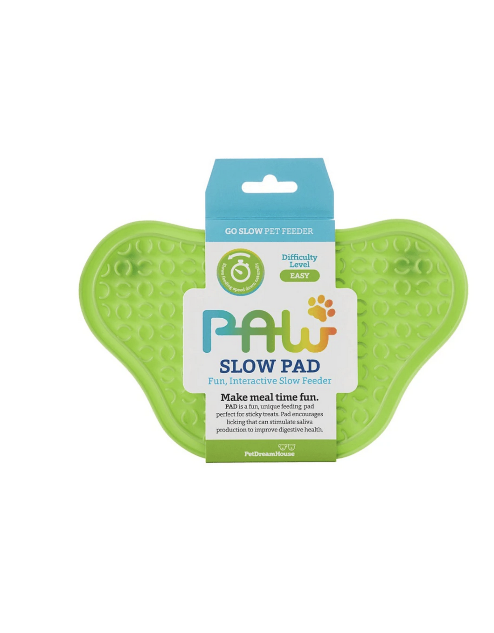 Pet Dream House Paw Lick Pad - Green