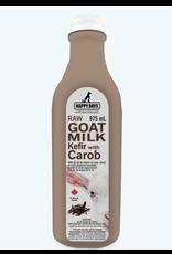 Happy Days Happy Days - Raw Goat Milk Kefir with Carob - 1L