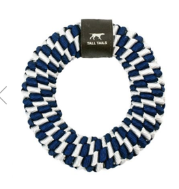Tall Tails Tall Tails - Braided Ring - Blue