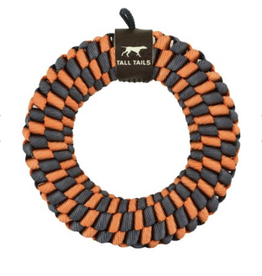 Tall Tails Tall Tails - Braided Ring - Orange