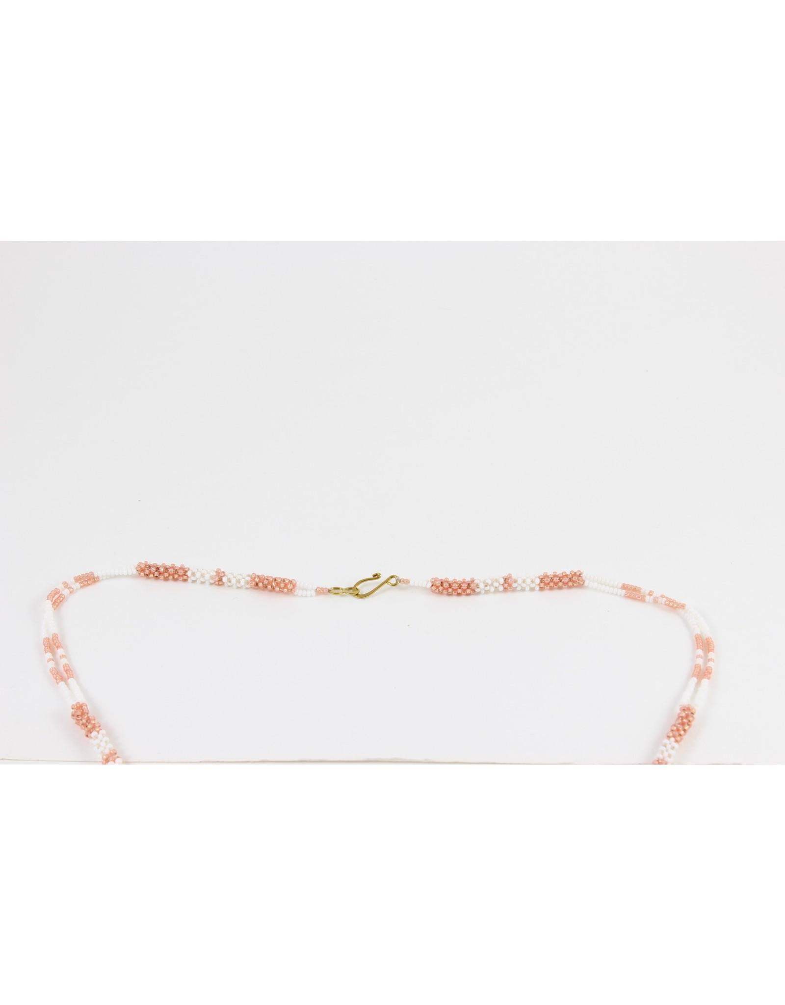Nancy Oakley Beaded Agate Necklace by Nancy Oakley
