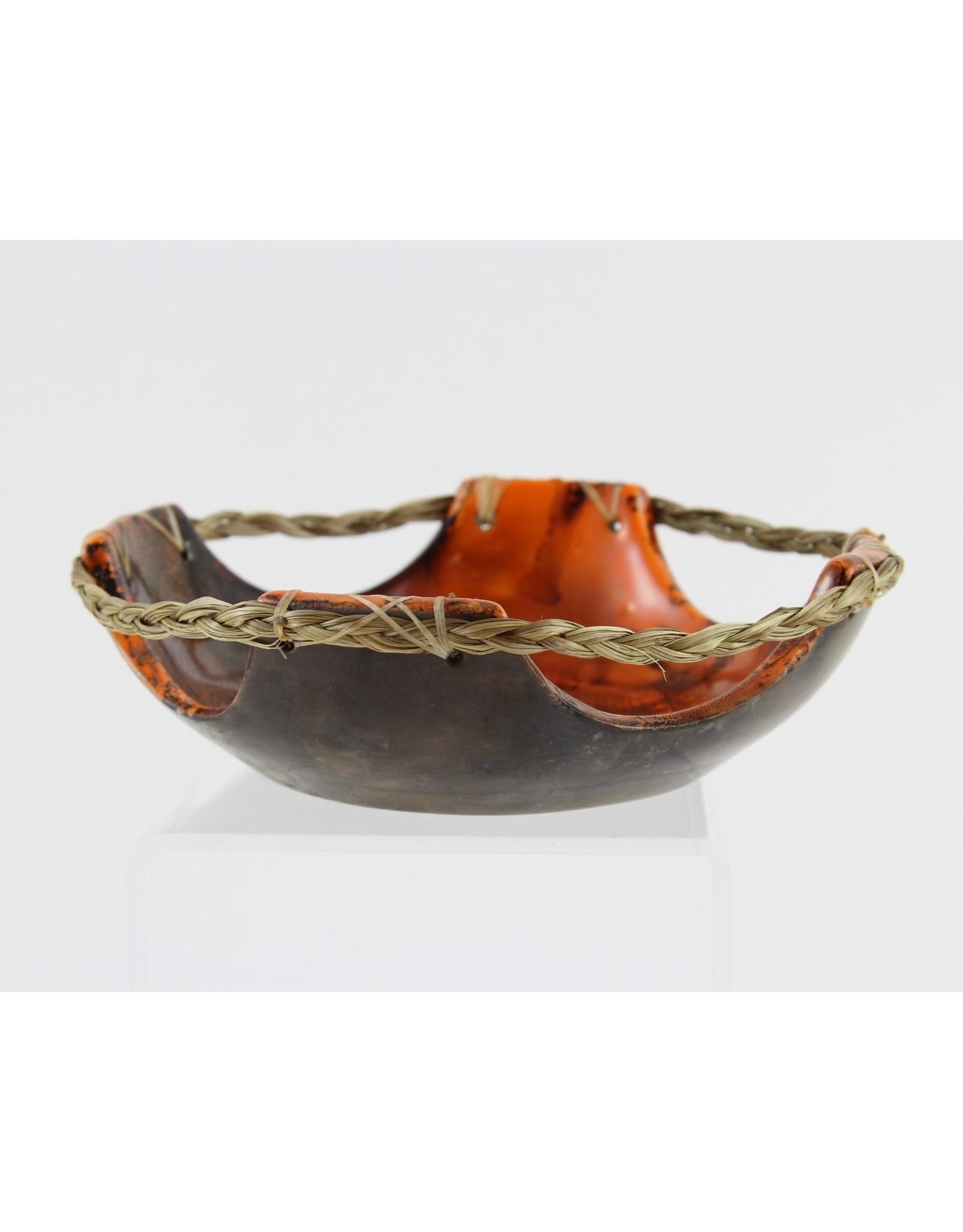 Nancy Oakley Orange Ceramic Tray by Nancy Oakley