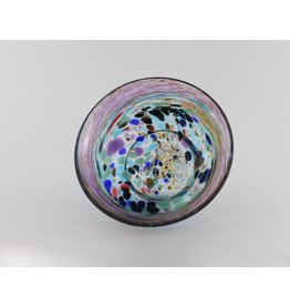 Wendy Smith Speckled Bowl by Glass Artisans Studio