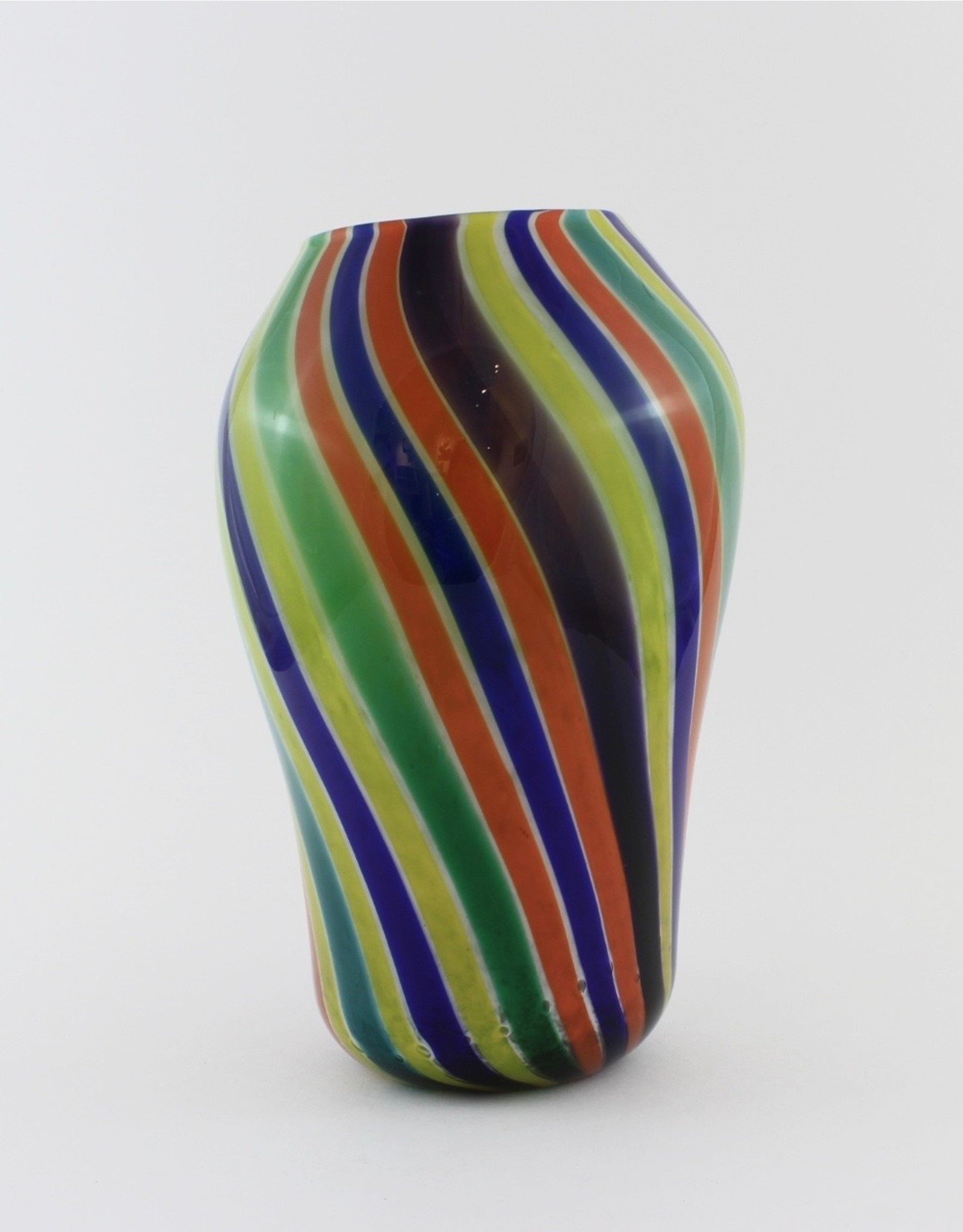 Wendy Smith Rainbow Vase by Glass Artisans Studio