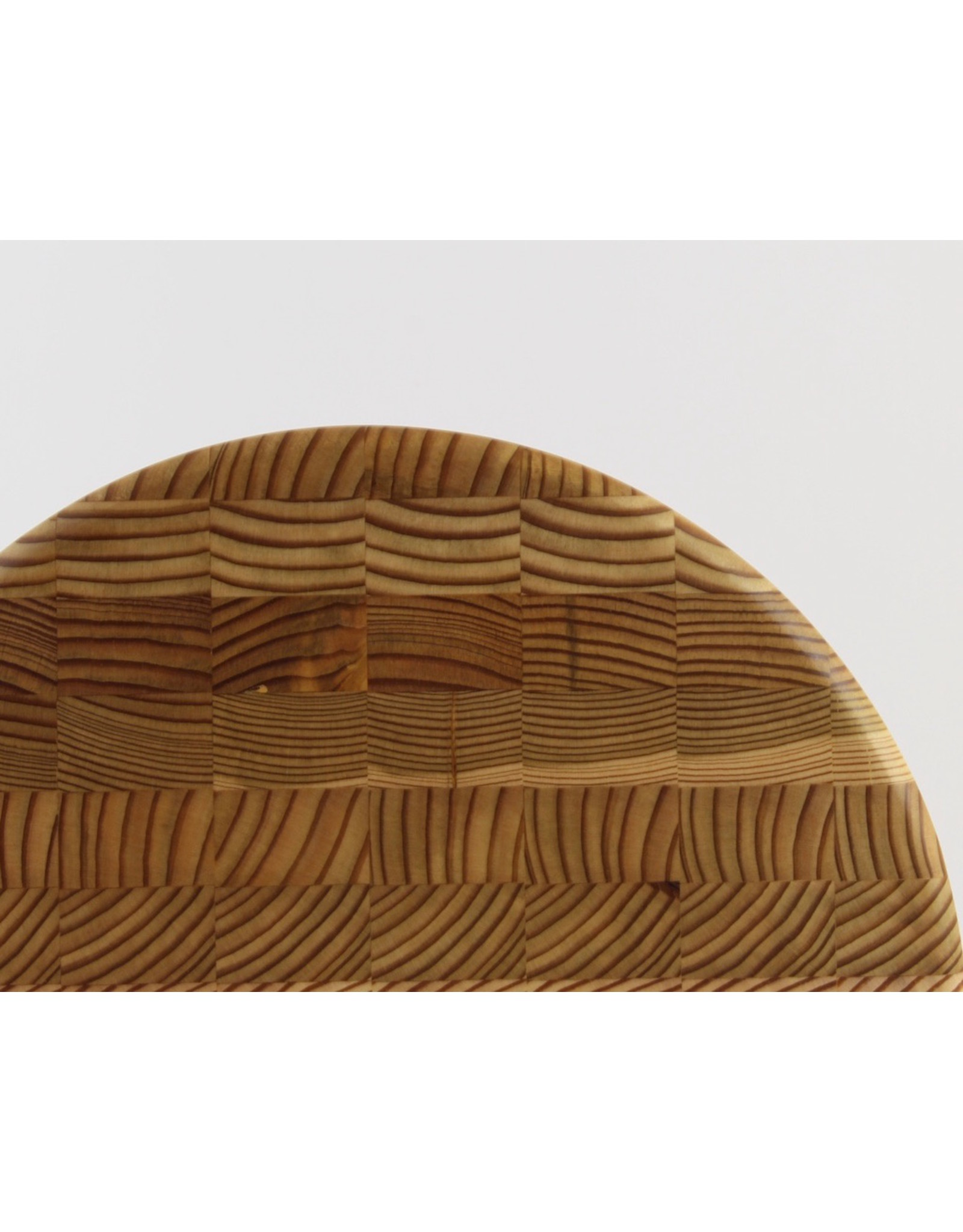 Larch Wood Canada Round Cheese Board by Larch Wood