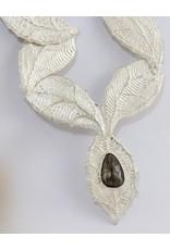Teddy Tedford Leaf & Vine Neck Piece by Teddy Tedford
