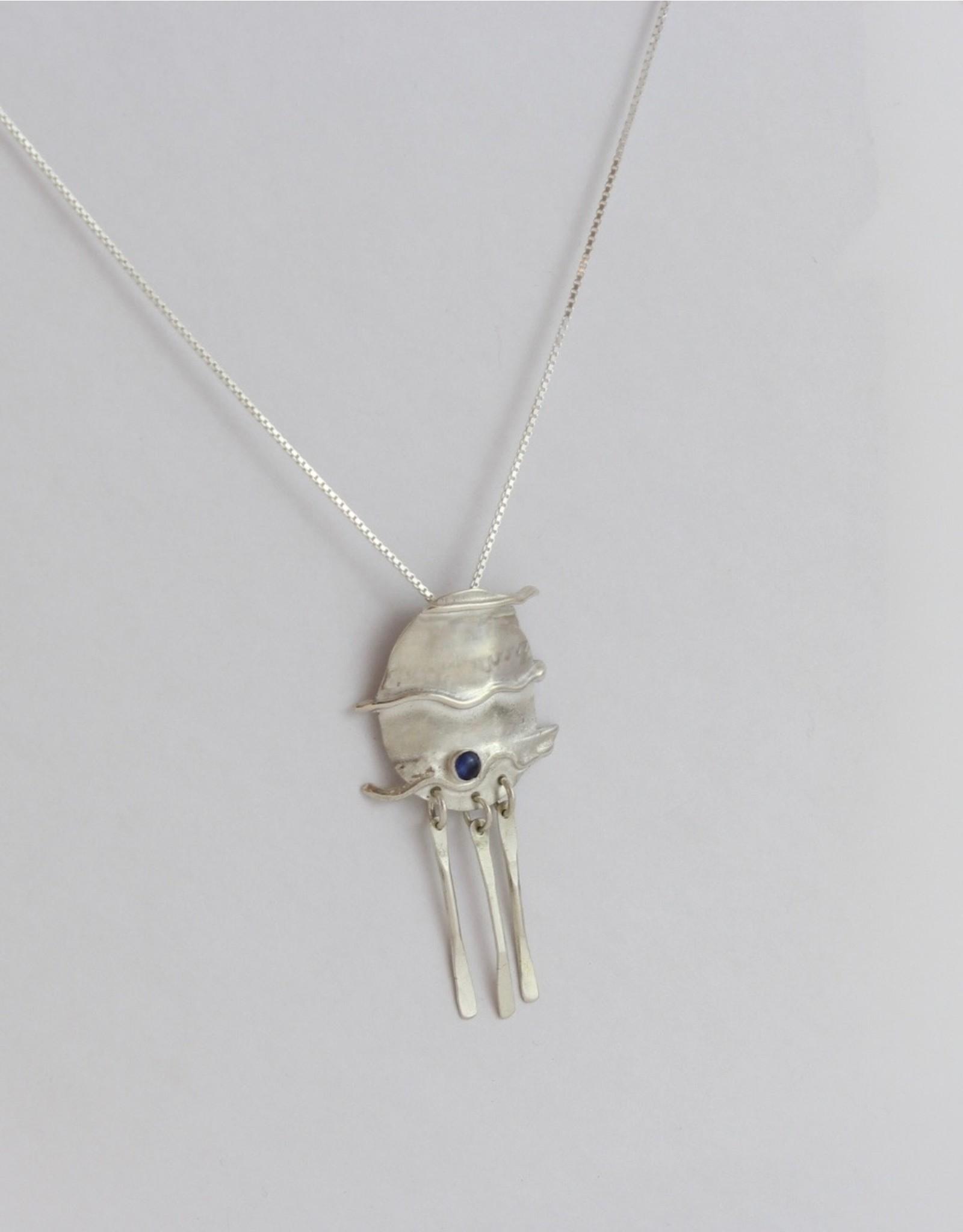 Karen Wawer Sapphire Necklace by Karen Wawer