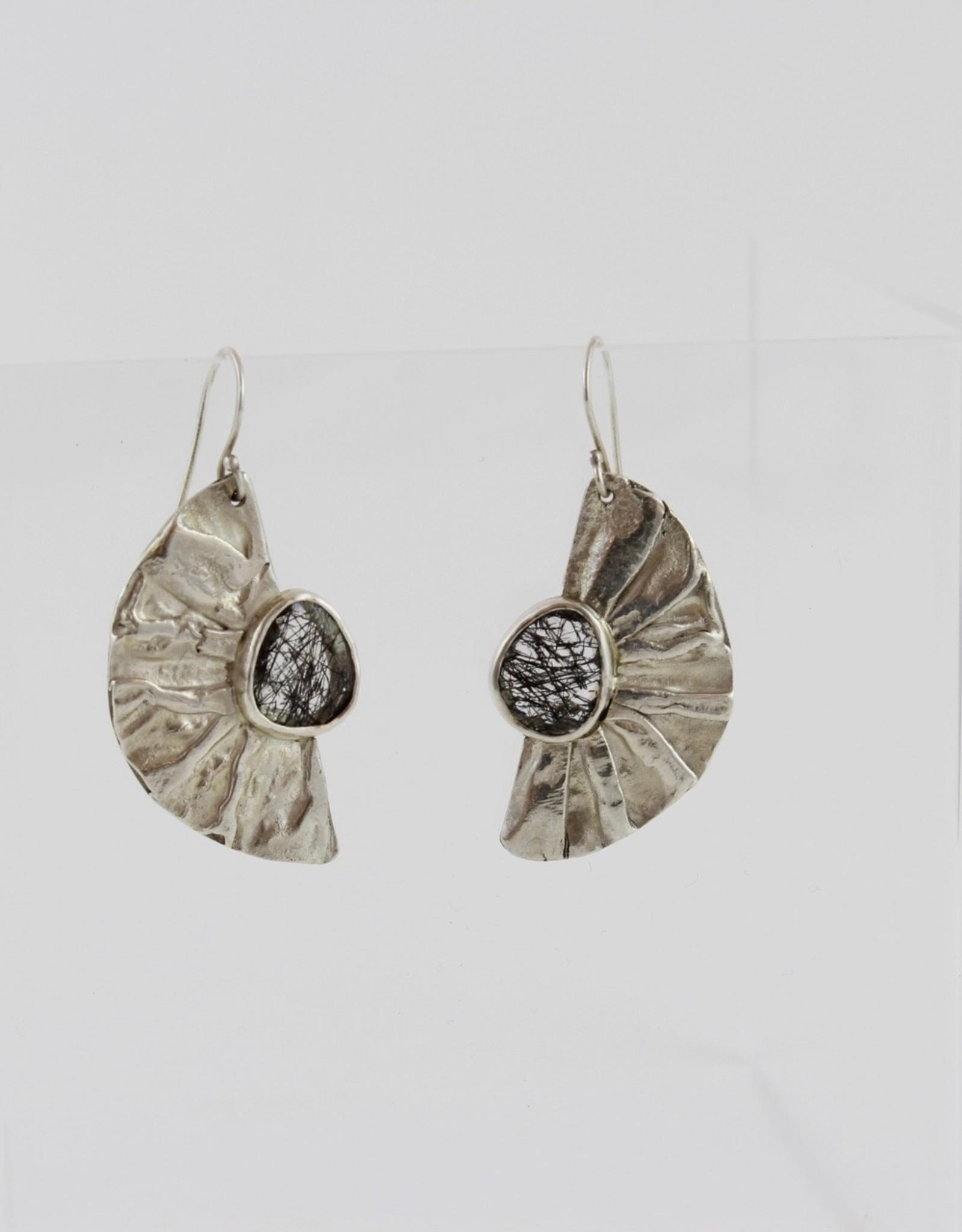 Karen Wawer Half Moon Earrings by Karen Wawer