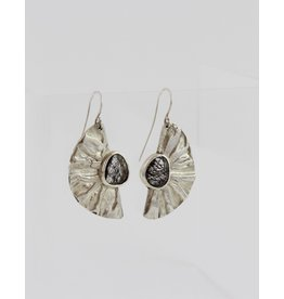 Karen Wawer Half Moon Earrings by Karen Wawer